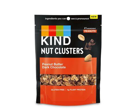 Peanut Butter Dark Chocolate Nut Clusters