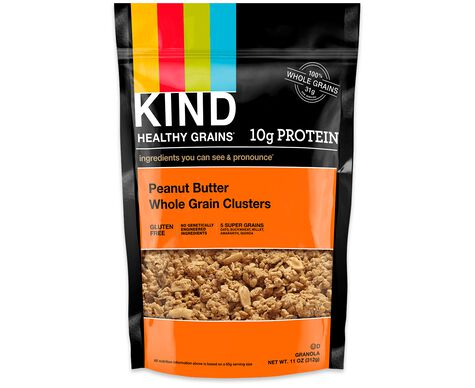 peanut butter whole grain clusters