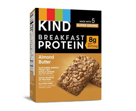 Almond Butter Protein Breakfast Bars