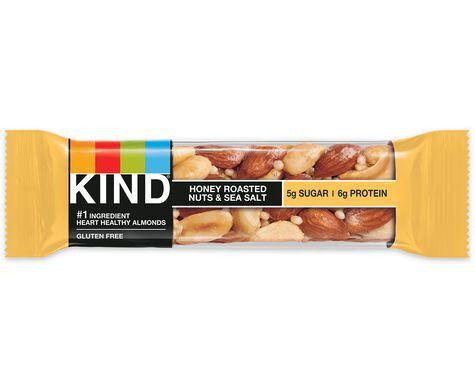 honey roasted nuts & sea salt