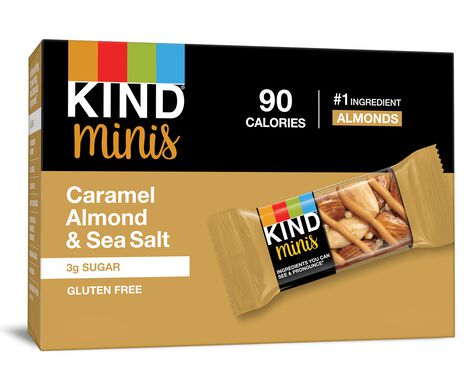 Caramel Almond & Sea Salt Minis