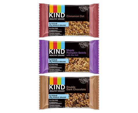 KIND healthy grains® bar 5g sugar variety pack