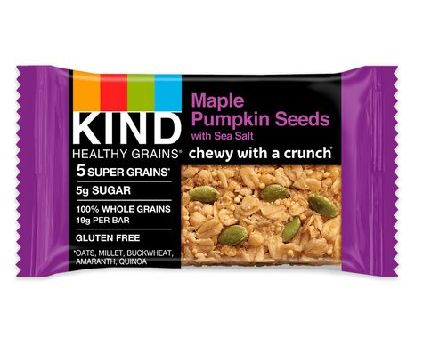 Maple Pumpkin Seeds with Sea Salt