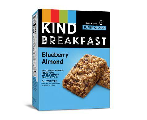 Blueberry Almond Breakfast Bars