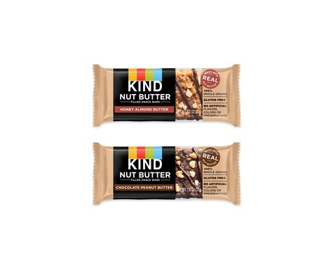 KIND® nut butter filled snack bars variety pack