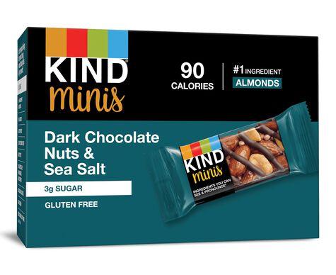 Dark Chocolate Nuts & Sea Salt Minis