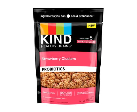 Strawberry Probiotic Clusters