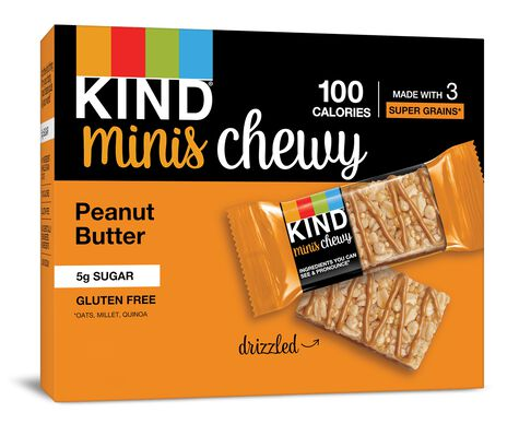 Peanut Butter Chewy Minis