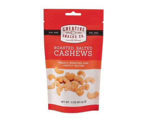 Roasted, Salted Cashews
