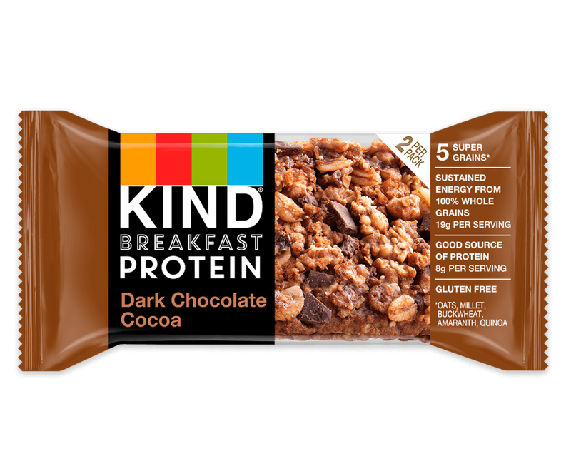 Chocolate Breakfast Bars Healthy Dark Chocolate Snacks Kind Packs Kind B2b