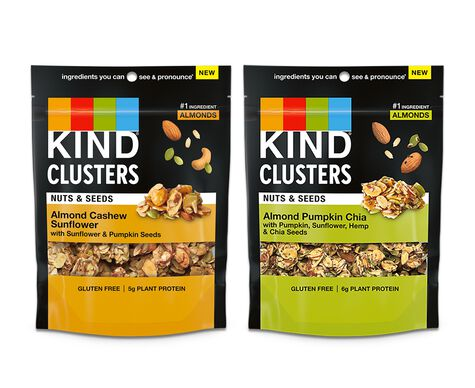 Nuts & Seeds Clusters Variety Pack